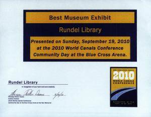 Award for Best Museum Exhibit