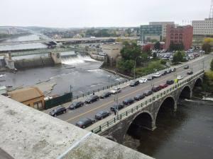 The Court Street Bridge.