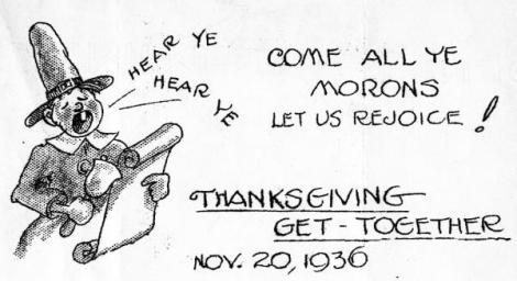 Morons-thanksgiving