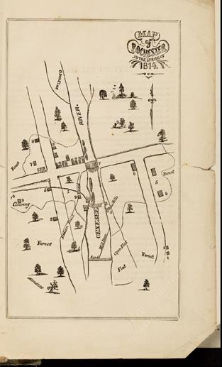 Life in Rocville- 1814 map