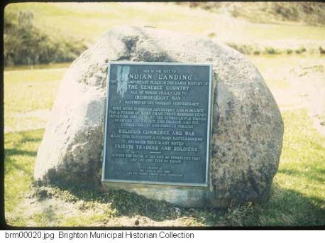 Tryon- Indian Landing marker