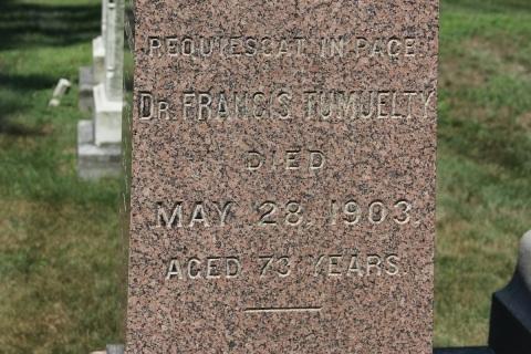tumblety-grave