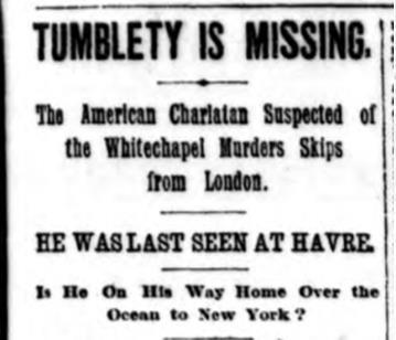 tumblety-missing