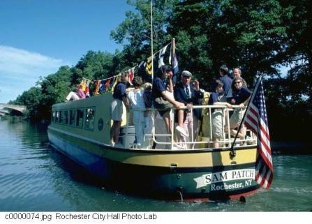 sam patch - boat