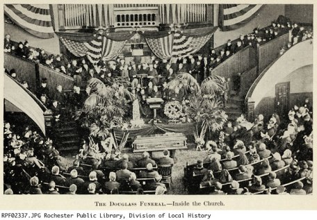 douglass in roc-funeral